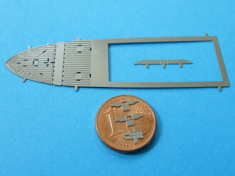 Titanic 3D métal kit au 1/2000 ème T015510
