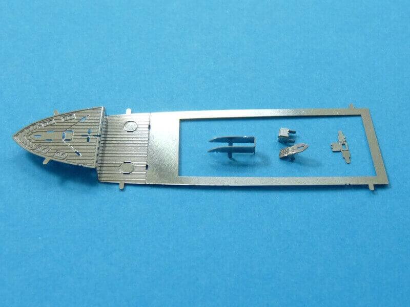 Titanic 3D métal kit au 1/2000 ème T015810