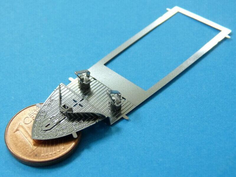 Titanic 3D métal kit au 1/2000 ème T015910