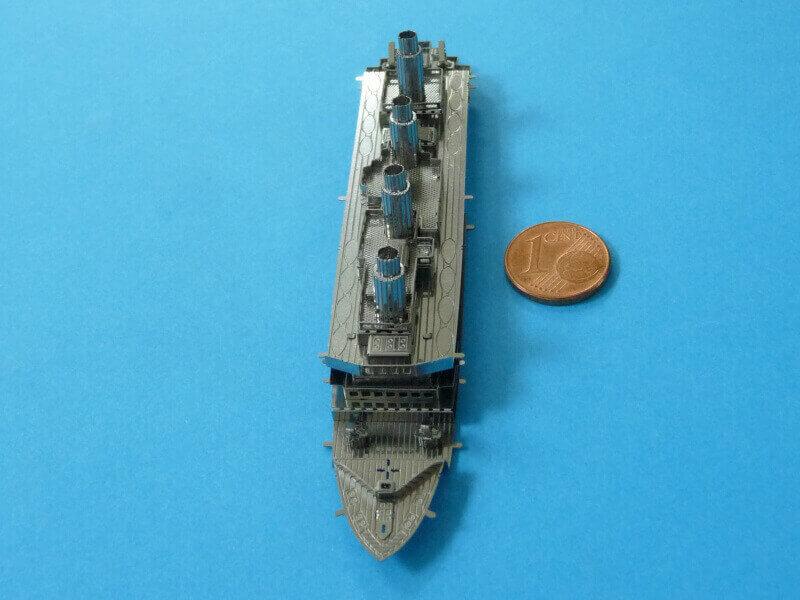 Titanic 3D métal kit au 1/2000 ème T016110