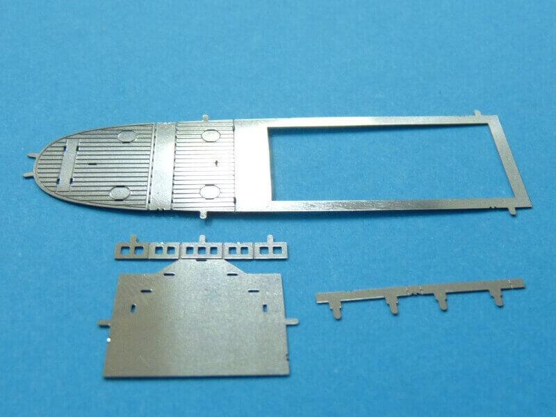 Titanic 3D métal kit au 1/2000 ème T016510