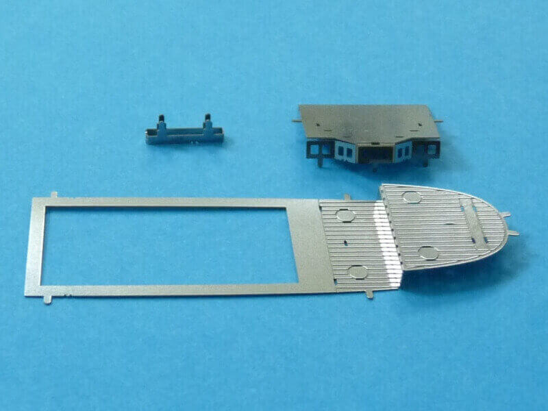 Titanic 3D métal kit au 1/2000 ème T016610