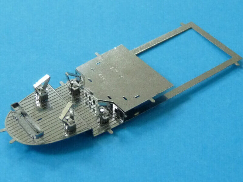 Titanic 3D métal kit au 1/2000 ème T016810