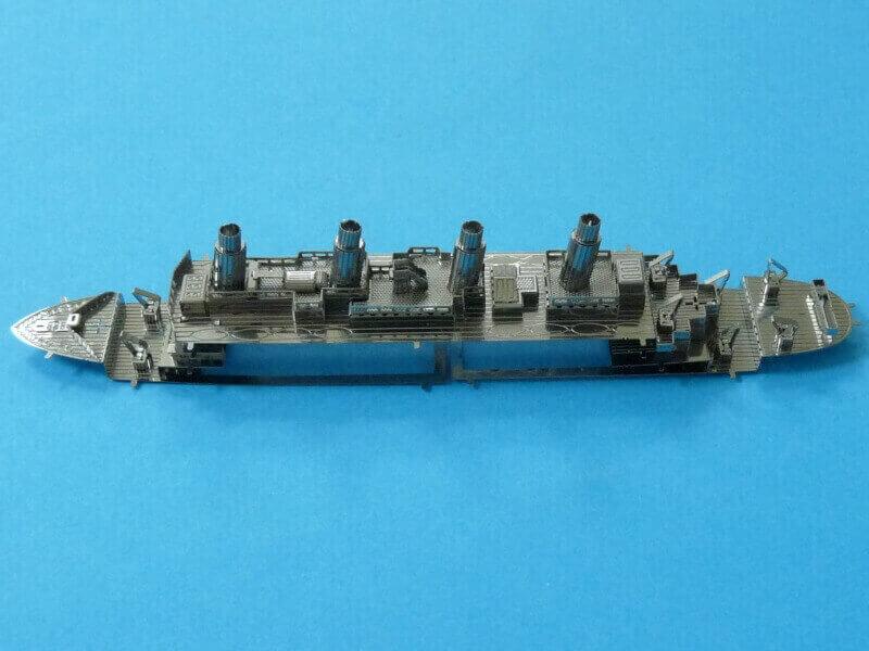 Titanic 3D métal kit au 1/2000 ème T016910