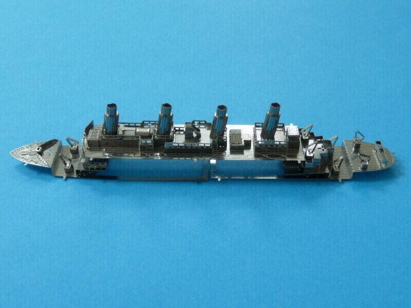 Titanic 3D métal kit au 1/2000 ème T017110