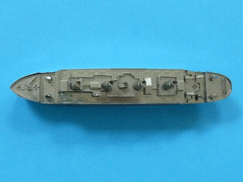 Titanic 3D métal kit au 1/2000 ème T017910