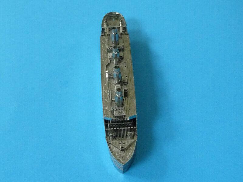 Titanic 3D métal kit au 1/2000 ème T018010
