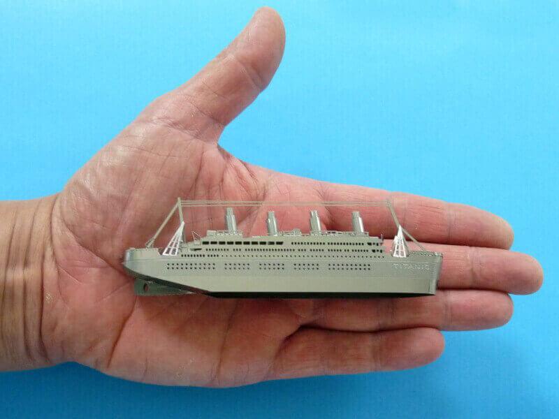 Titanic 3D métal kit au 1/2000 ème - Page 2 T022810