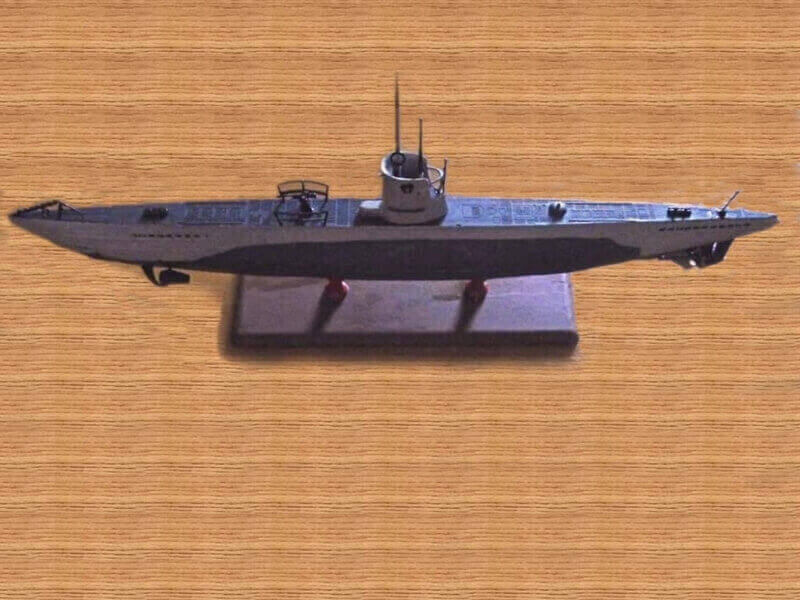 U Boot type II 1/144 revell par denis25 T2b00210