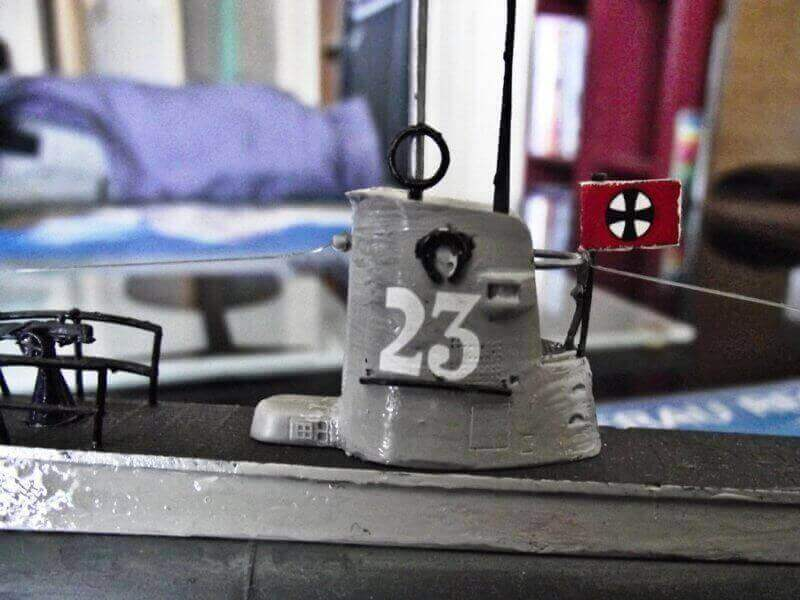 U Boot type II 1/144 revell par denis25 T2b00810