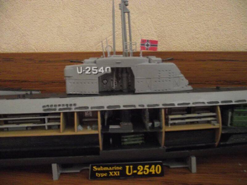Sous marin Type XXI Revell au 1/144 par denis25 Ty00210