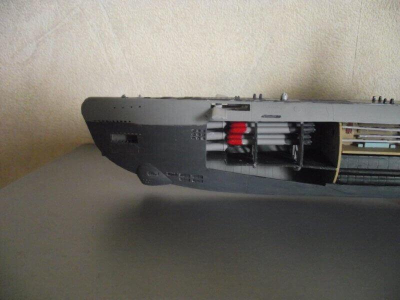 Sous marin Type XXI Revell au 1/144 par denis25 Ty00310