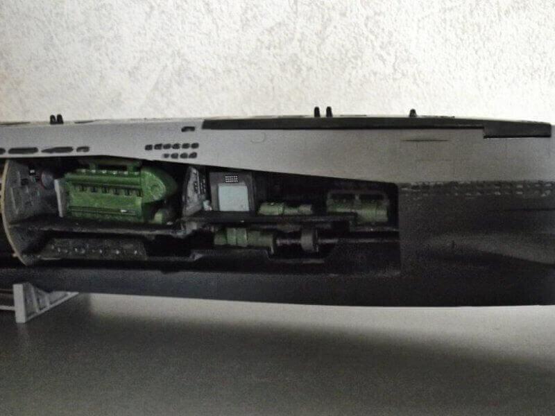 Sous marin Type XXI Revell au 1/144 par denis25 Ty01010
