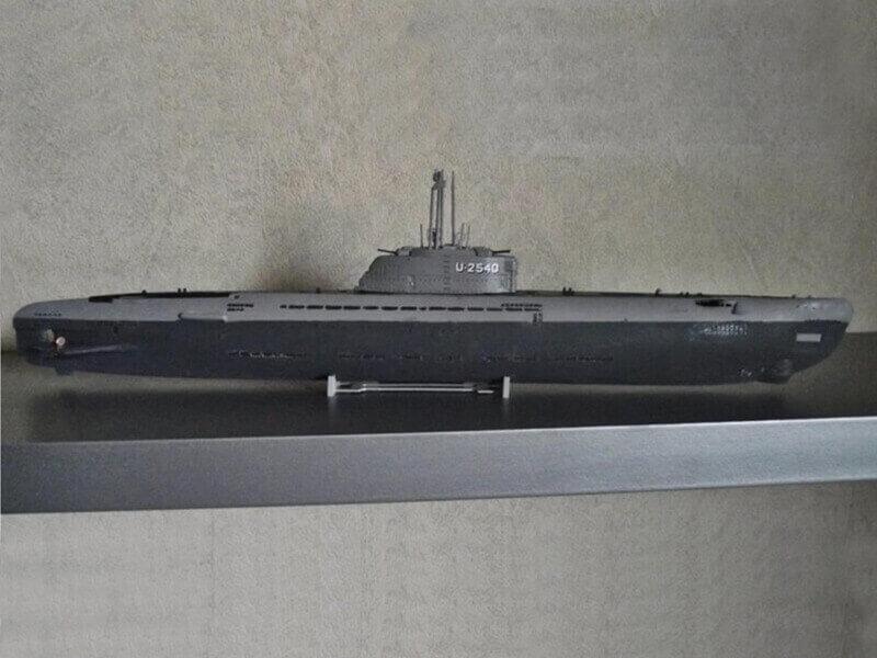 Sous marin Type XXI Revell au 1/144 par denis25 Ty01110