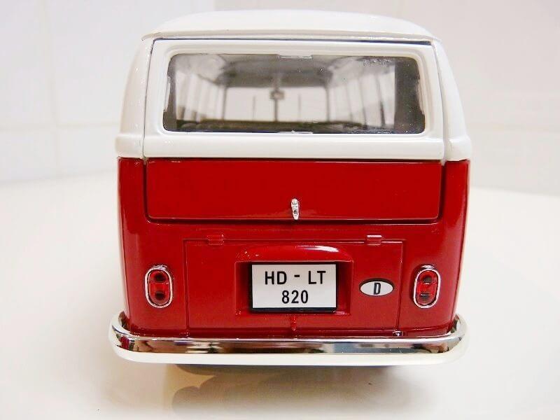 Volkswagen Combi - 1966 - Solido 1/18 éme Volksw68