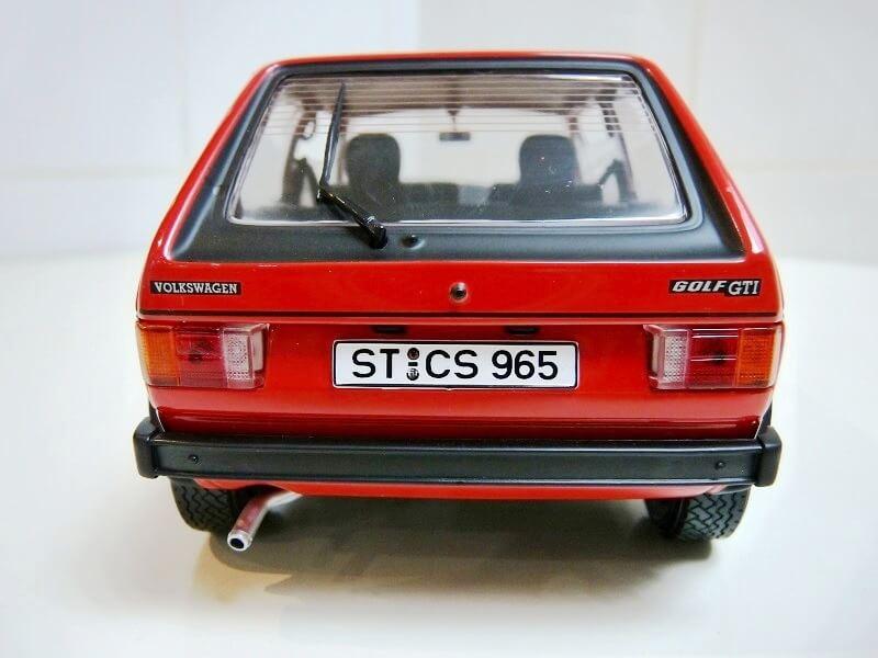 Volkswagen Golf GTI - 1977 - Solido 1/18 ème Volksw79
