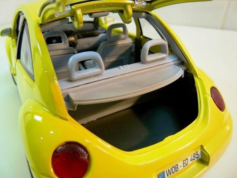 Volkswagen New Beetle - 1998 - Bburago 1/18 ème Volksw88