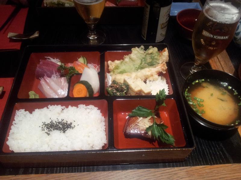 Restaurant japonais : Zenzan 20121110