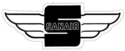 Stickers vintage en tout genre, Track, produit auto, dealer ect... Sanair11