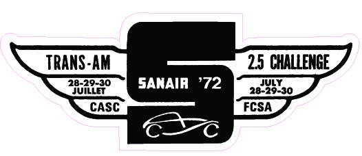Stickers vintage en tout genre, Track, produit auto, dealer ect... Sanair15