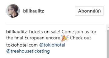 [Instagram Officiel] Instagram  Bill,Tom,Gus,Georg et TH - Page 21 Sans_t53