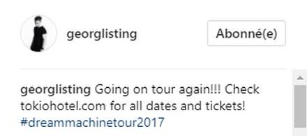 [Instagram Officiel] Instagram  Bill,Tom,Gus,Georg et TH - Page 21 Sans_t58