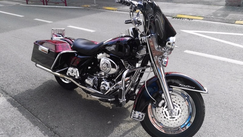 passage du softail bobber au RK  Screen19