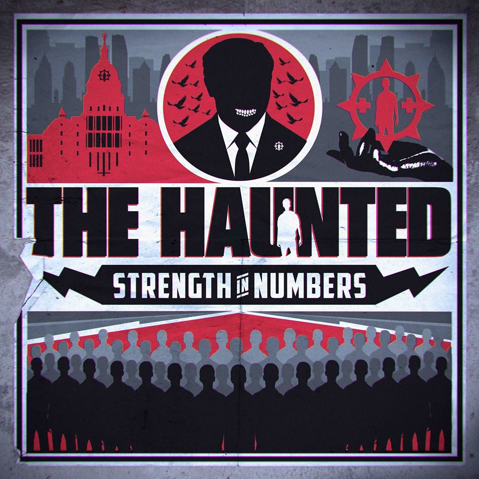 THE HAUNTED Strength In Numbers (2017) Thrash Suède 19399110