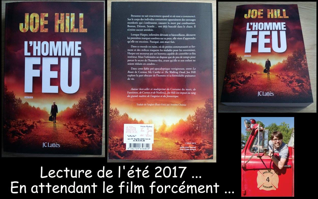 L'HOMME FEU Joe Hill (2017) Le fils de Stephen King à l'oeuvre. 19957010