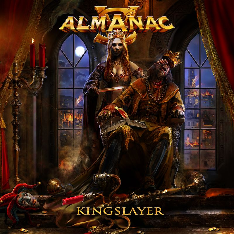 ALMANAC Kingslayer (2017) Symphonic Power Metal ALLEMAGNE 20375610