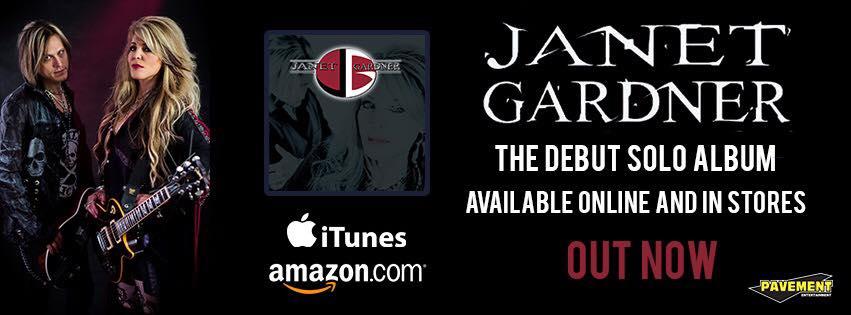 JANET GARDNER 1er album solo (2017) Hard Rock  20841910
