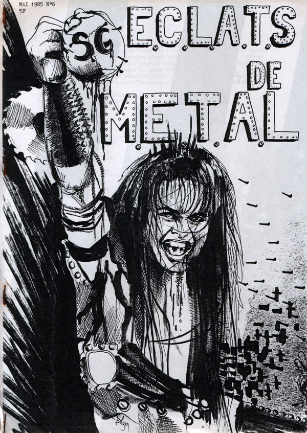 Interview KILLERS dans ÉCLATS DE METAL (MAI 1985) (Archive) Eclats16