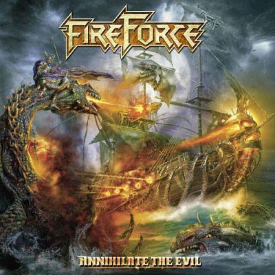 FIREFORCE Annihilate the Evil (2017) Power Metal Belgique Firefo10