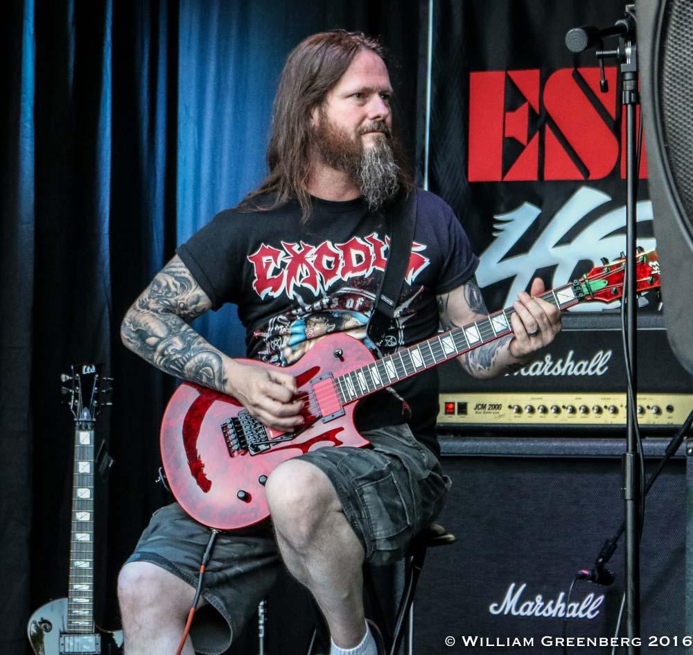 GARY HOLT (Exodus - Slayer) a dit ... sur son partage entre ses deux groupes. Gary-h10