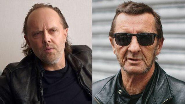 Lars Ulrich (Metallica) à dit sur Phil Rudd ... Larsul10