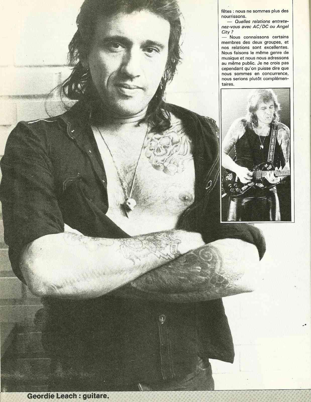 Interview ROSE TATTOO de l'anatomie fleuri des australiens du hard ! (Archive) Numyri14
