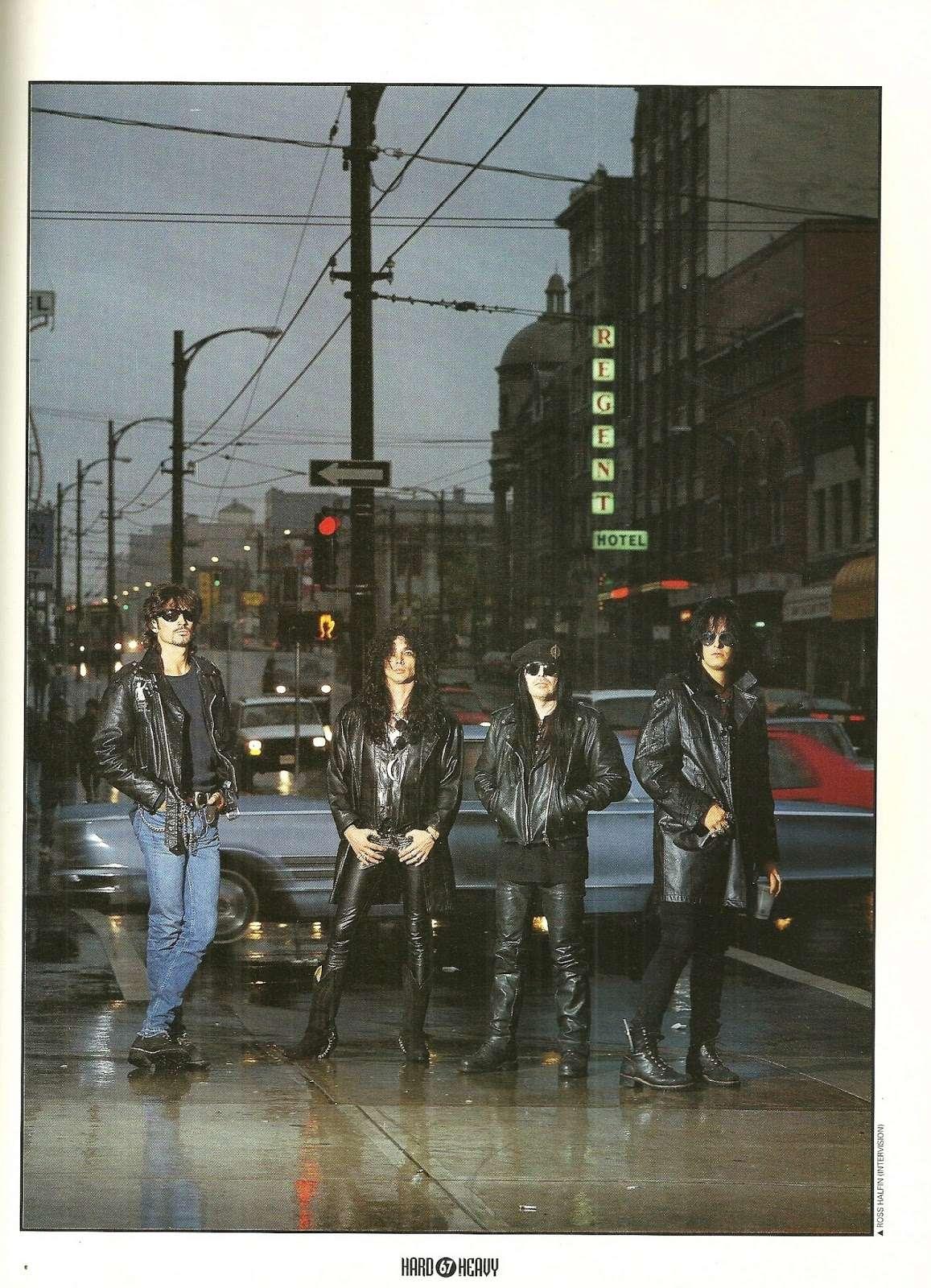 "MOTLEY CRÜE 4 non blondes ""Hard & Heavy"" Mars 1994 (ARCHIVE) Numyri19"