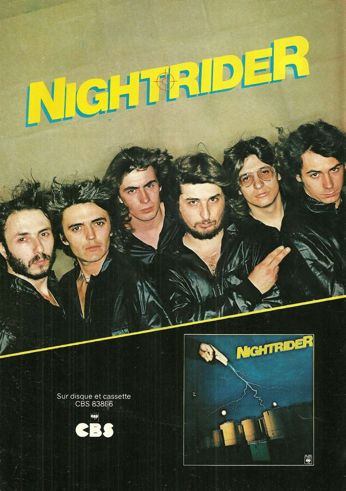 "NIGHTRIDER Le cheval de fer ""Best"" Octobre 1979 (Archive) Numyri32"