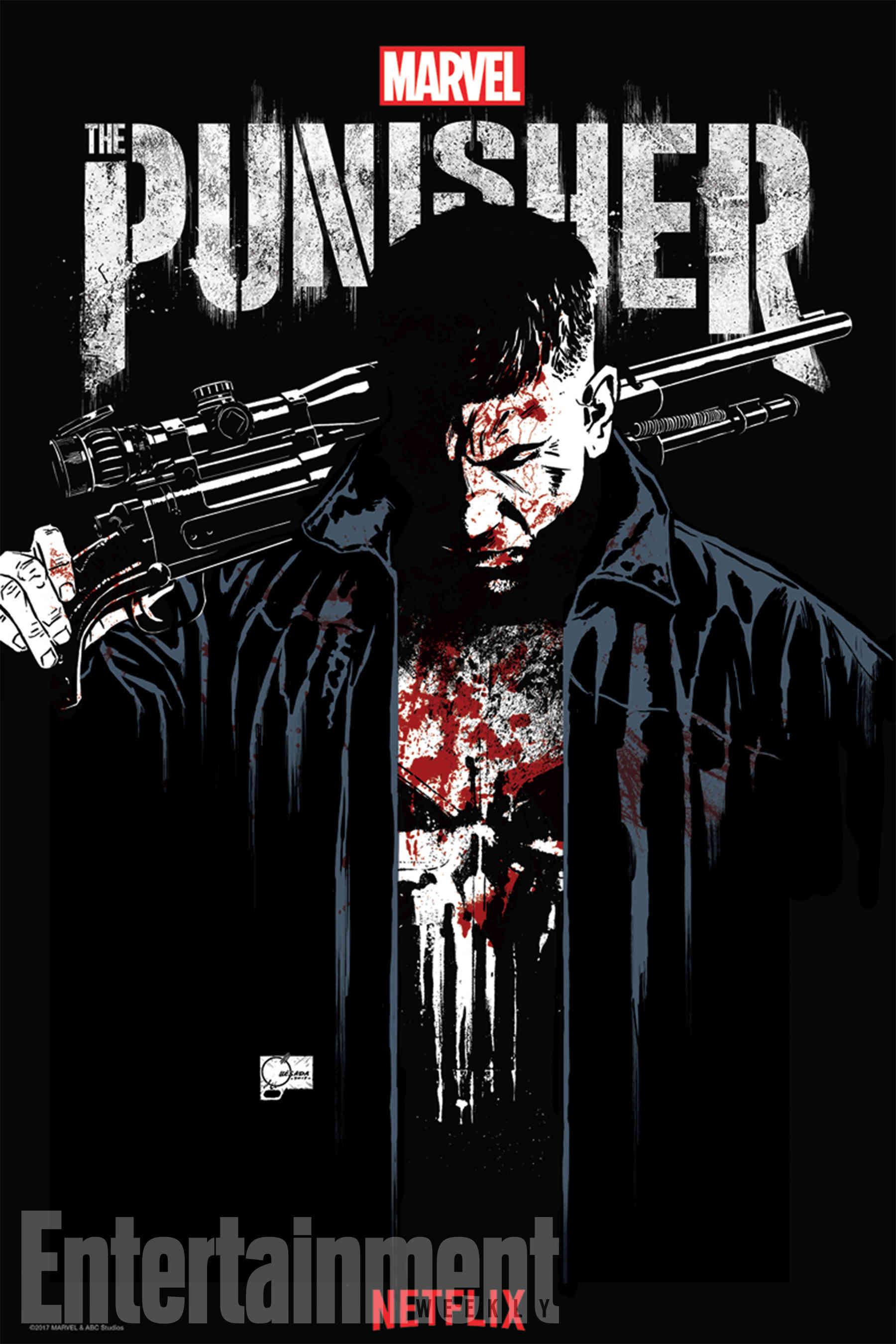 La série LE PUNISHER s'octroit la musique de METALLICA (Bande annonce explosive) !  Punish11
