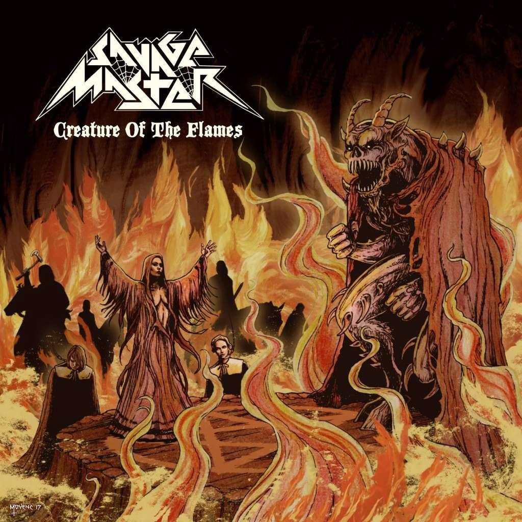SAVAGE MASTER Creature Of The Flame (2017) Heavy Metal USA Savage10