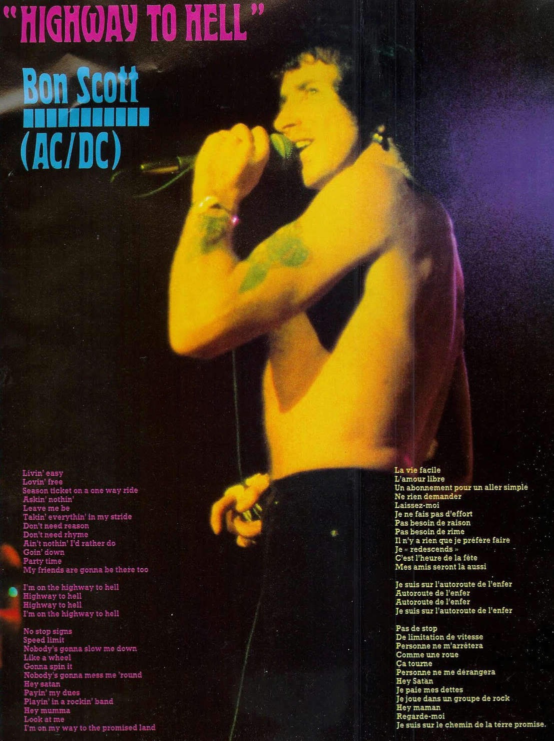 AC/DC Highway To Hell (1979) Paroles traduites ... Scan0015