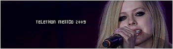 Teleton, Mexico, Avril interprète Complicated et Girlfriend Sans_t12