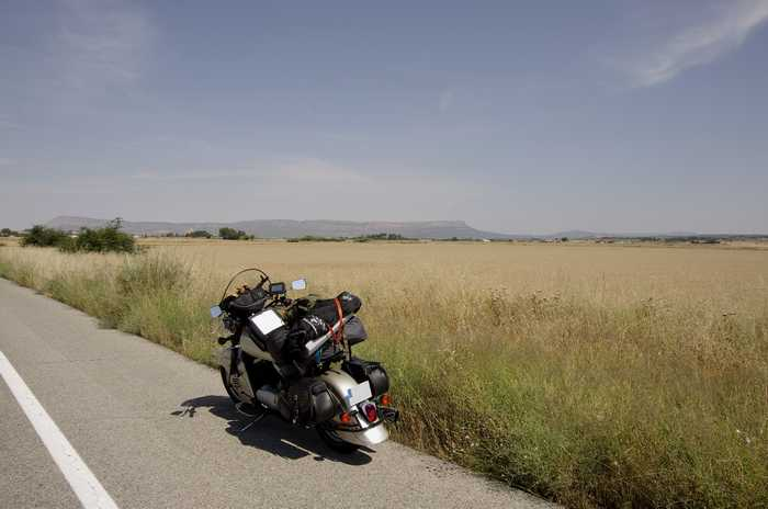 desert de Tabernas , que sont devenu les lieux de tournage Almeri35