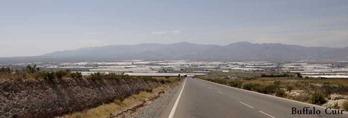desert de Tabernas , que sont devenu les lieux de tournage Almeri37