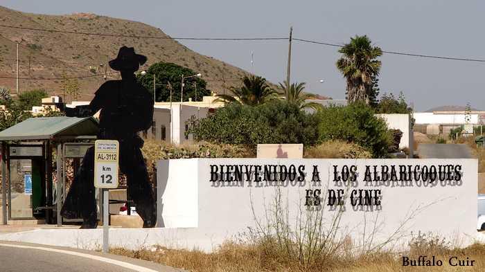 desert de Tabernas , que sont devenu les lieux de tournage Almeri41