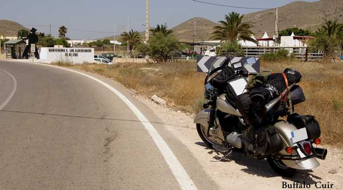 desert de Tabernas , que sont devenu les lieux de tournage Almeri42