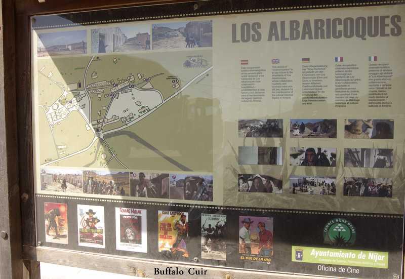 desert de Tabernas , que sont devenu les lieux de tournage Almeri45