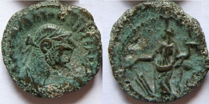 Tetradracma de Diocleciano. Alejandría Tetra10