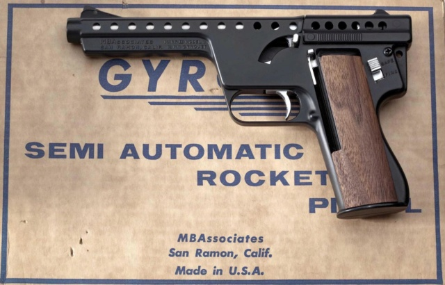 Gyrojet Rocket Pistol 04sw5e10
