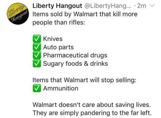 Walmart va cesser de vendre certaines munitions pour fusils d'assaut 15676912